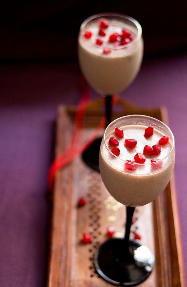 pomegranate vanilla mousse recipe