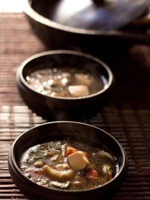 thai veg tofu soup