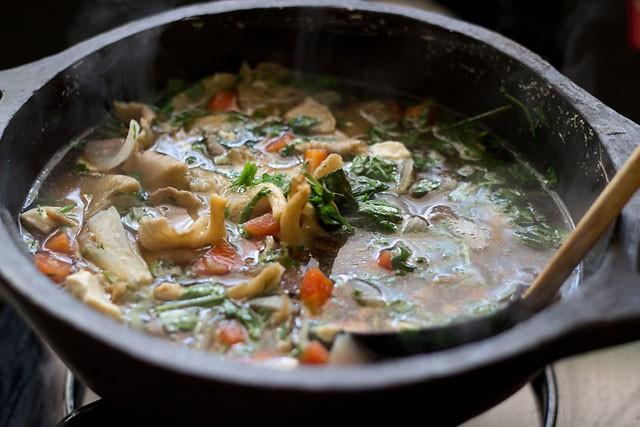 cook tofu soup