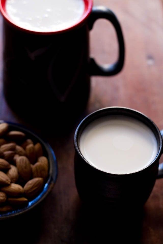 almond milk recipe, almond milk