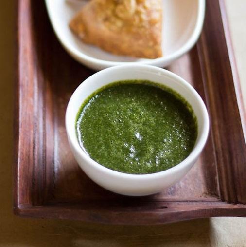 coriander chutney recipe, dhania chutney recipe