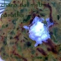 dal methi paratha