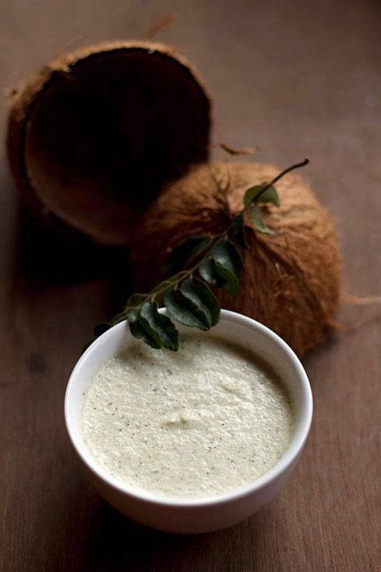 easy hotel style coconut chutney, coconut chutney recipe