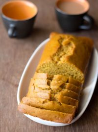 orange cake recipe, how to make eggless orange cake