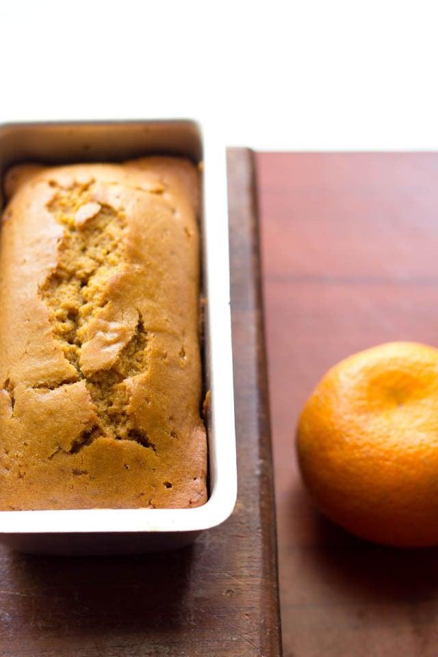 vegan eggless orange cake recipe