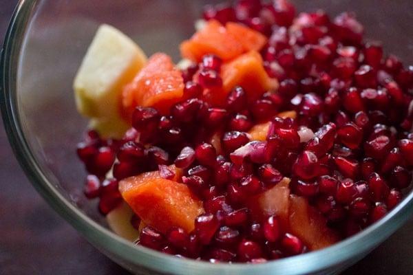 fruits for fruit custard recipe