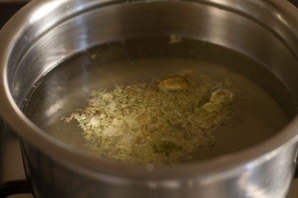 ginger to make ginger tea recipe