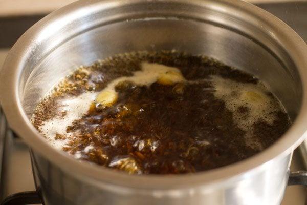 preparing ginger tea recipe