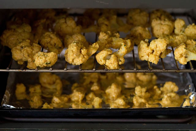 baking - tandoori gobi recipe