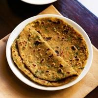 vegetable paratha recipe