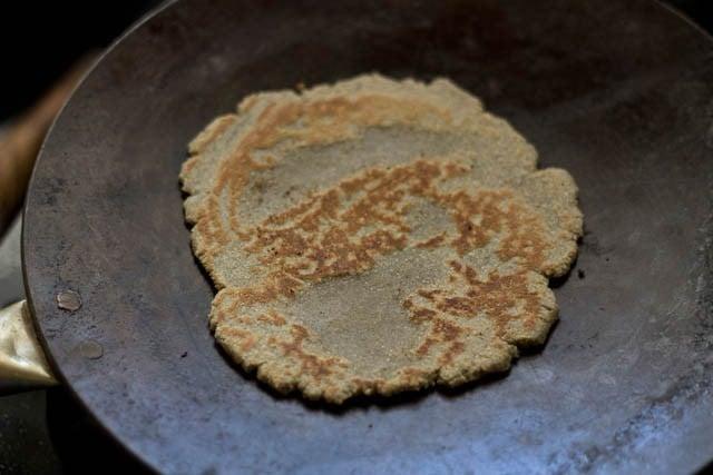 making bajra roti recipe