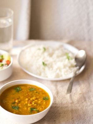 chana dal recipe, how to make chana dal | bengal gram recipe