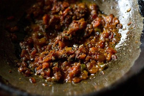 frying - chana dal recipe