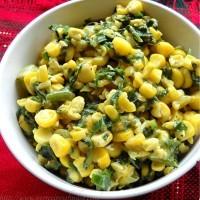 corn-spinach-recipe