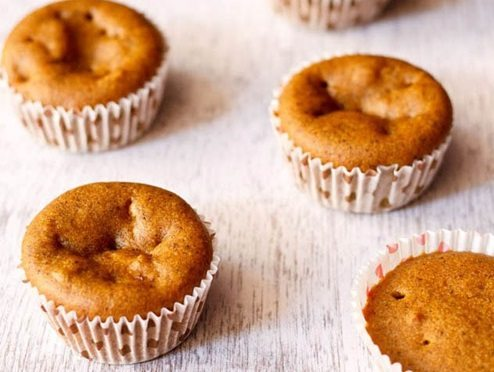 eggless pumpkin muffins recipe