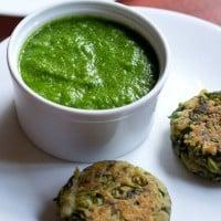 green garlic chutney recipe