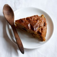 easter plum cake