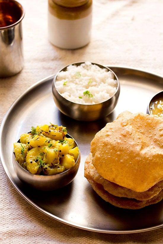 poori bhaji recipe