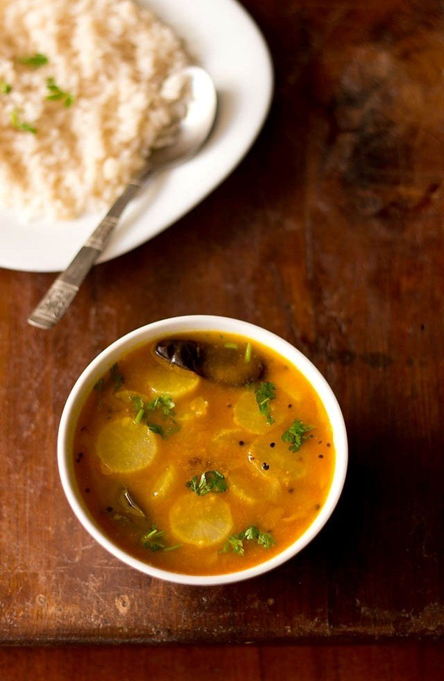 radish sambar