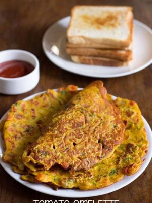 tomato omelette recipe