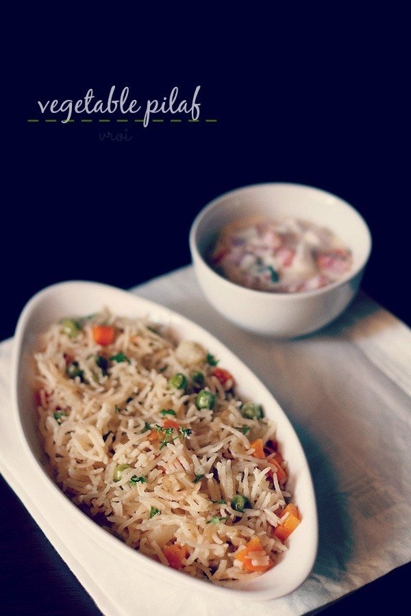 Semolina And Vegetable Pulao/Pilaf Recipes — Dishmaps