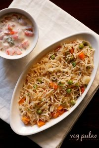 veg pulao recipe, how to make pulao recipe | vegetable pulao recipe