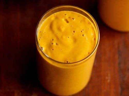 Banana Mango Milkshake Recipe Easy And Quick Mango Recipes