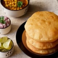how to make bhatura dough without yeast