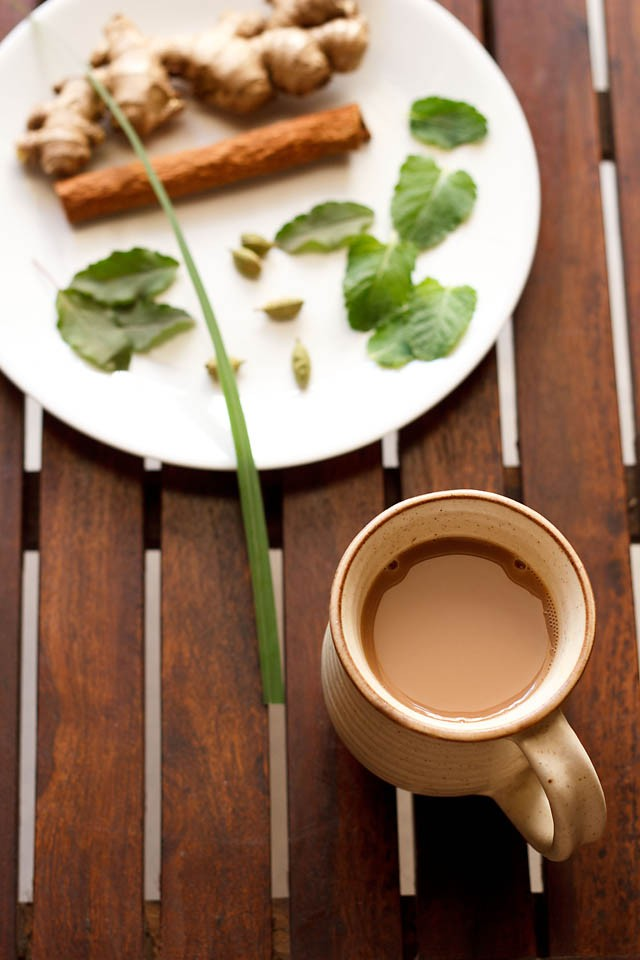 Indian herbal tea