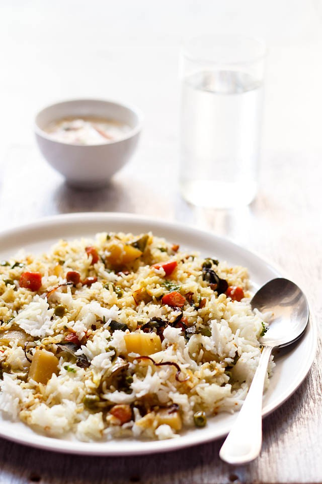 Veg biryani recipe kerala style kerala vegetable biryani at home we love rice based dishes like pulao and biryani of course biryanis always top the list being a one pot meal i dont have to cook anything else forumfinder Gallery