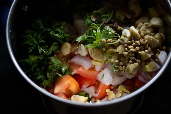 masala paste for matar paneer recipe