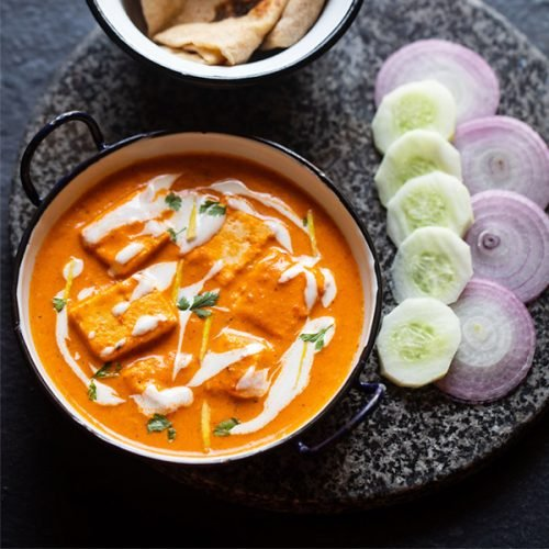 paneer butter masala recipe, how to make paneer butter masala - restaurant style