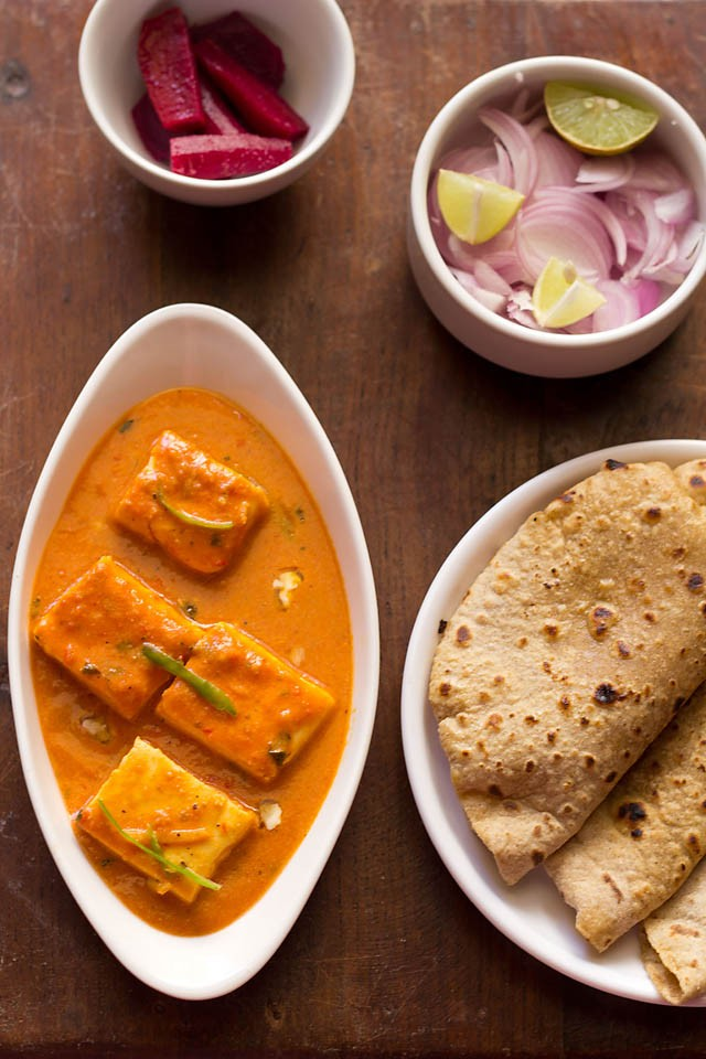 paneer butter masala recipe indian