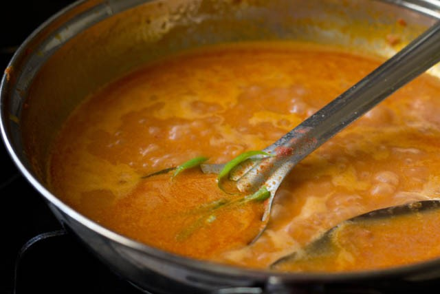 paneer butter masala preparation