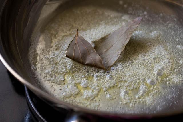 add bay leaf for paneer masala