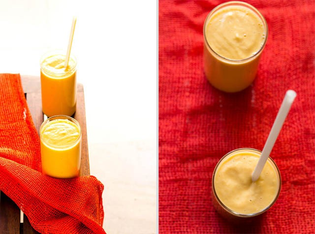 Papaya Lassi With Cardamom Recipe — Dishmaps