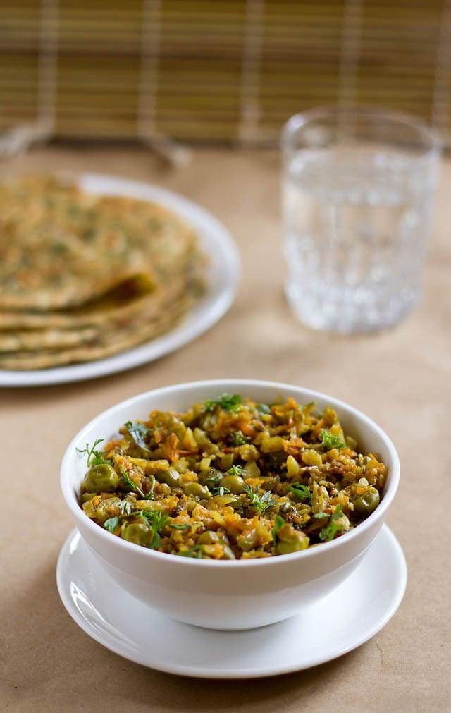 veg kheema recipe, how to make veg kheema | minced veggies recipe