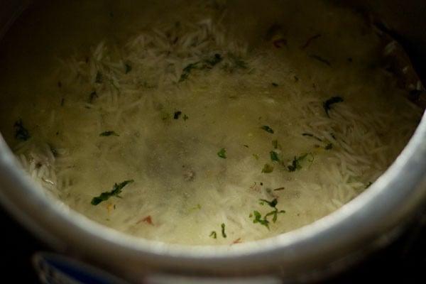 how to make biryani rice video