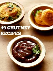 chutney recipes, 50 easy chutney recipes for dosa, idli & indian snacks