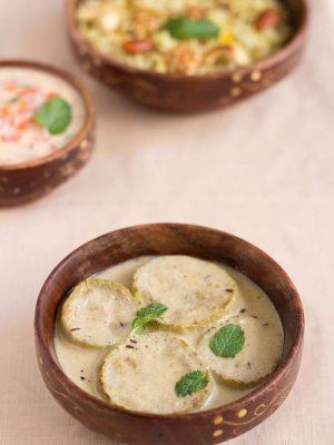 lauki yakhni or al yakhni recipe