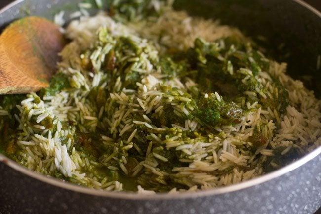 palak biryani recipe