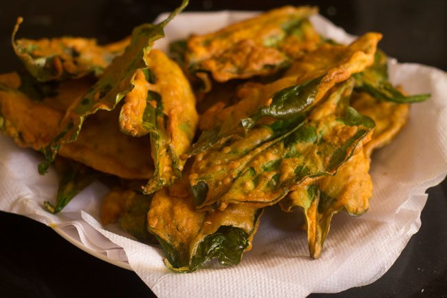 palak chaat recipe