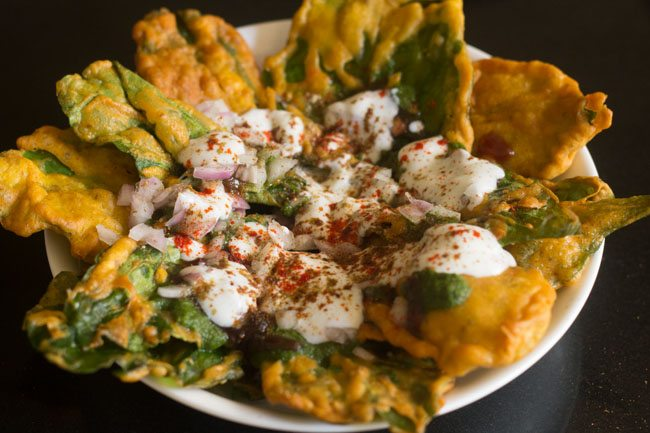 palak chaat recipe