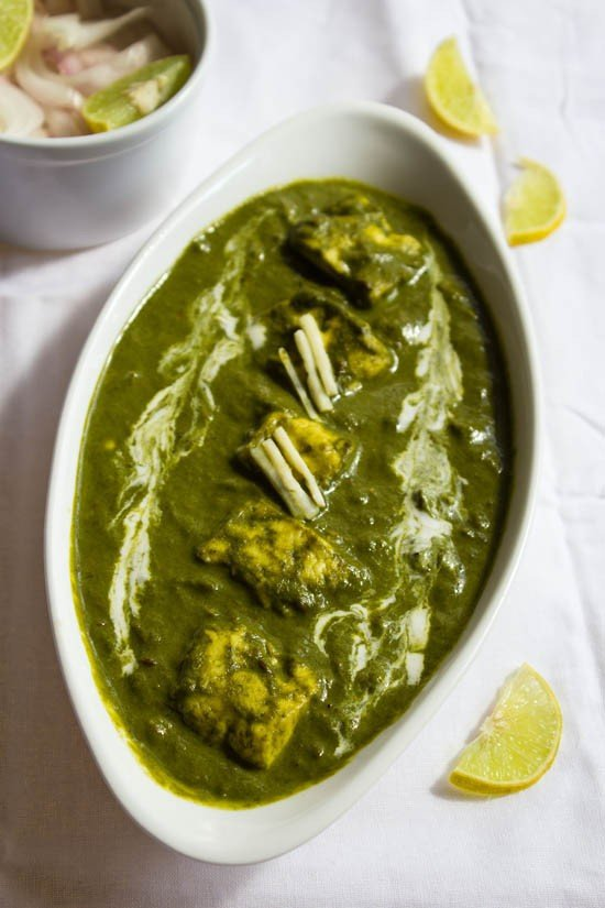 palak paneer recipe, how to make palak paneer recipe | paneer recipes
