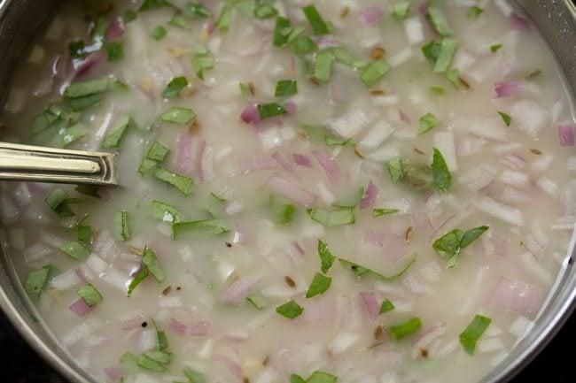 batter to make rava dosa recipe