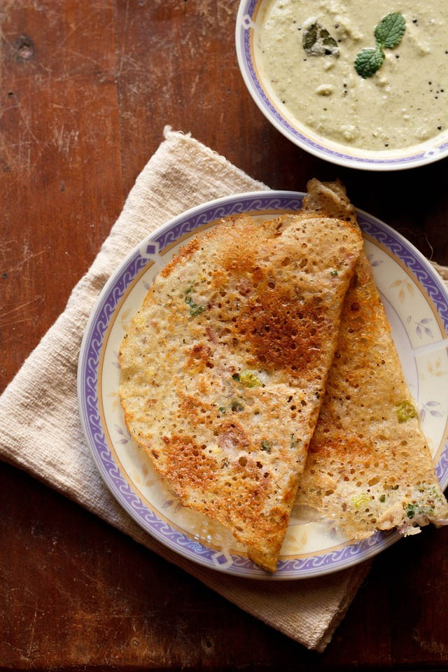 rava dosa recipe, how to make crisp and instant rava dosa recipe