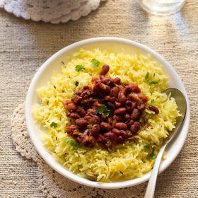 saffron rice, kesar rice