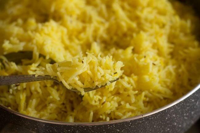 saffron rice recipe