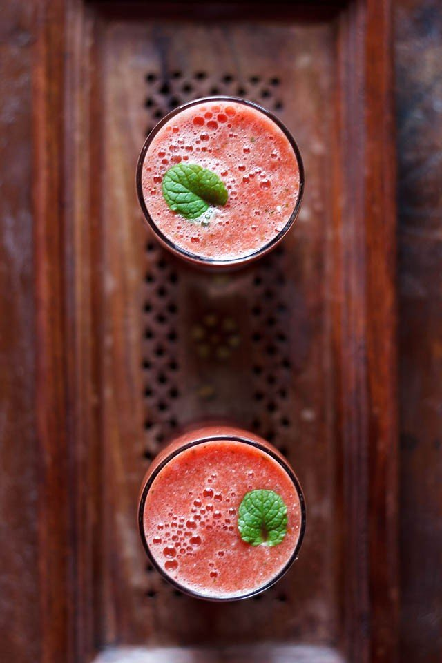watermelon mint juice recipe