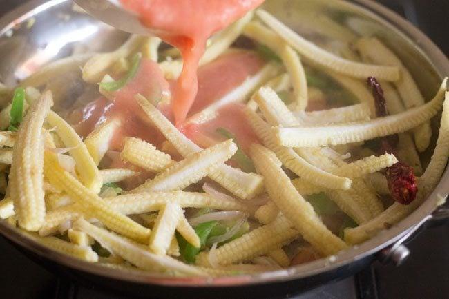 baby corn jalfrezi recipe